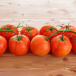 Stock Photo: Fresh organic tomatoes