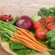 Organic vegetables — Stock Photo