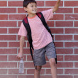Young School Boy — Stock Photo
