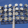 Soccer or Baseball Floodlights — Stock Photo