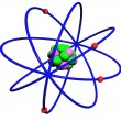 Atoms — Stock Photo