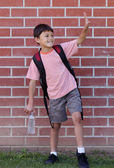 Young School Boy — Stockfoto