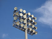 Soccer or Baseball Floodlights — Stock Photo