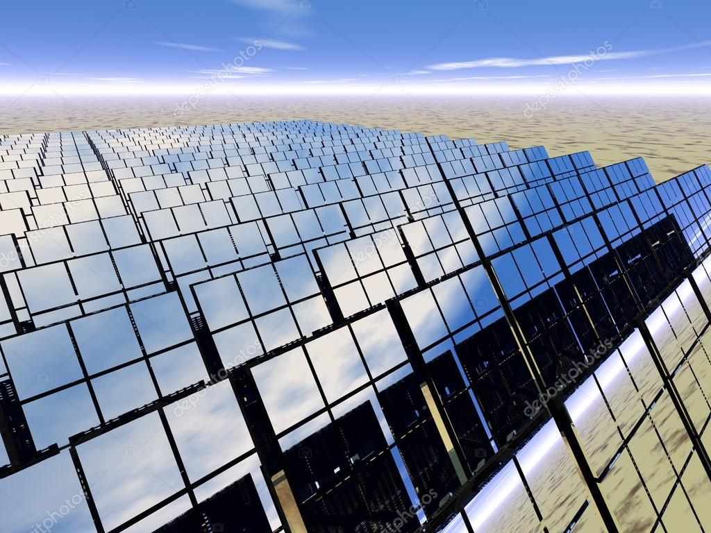 Solar Panel Farm In The Desert Stock Photo 169 Dmediapro