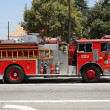 Los Angeles County Fire Truck — Stockfoto