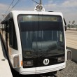 Gold Line Train - Stock Photo