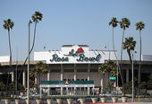 The Rose Bowl Stadium, Pasadena, CA — Stock Photo