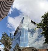Office Buildings - Fisheye — Stock Photo