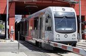 Gold Line Train in Pasadena, CA — Foto Stock
