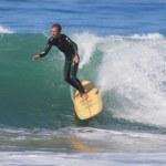 Surfing at El Porto in Manhattan Beach, CA — Stock Photo #13433467
