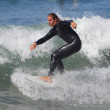 Surfing at El Porto in Manhattan Beach, CA — Stock Photo #13433486