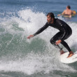 Surfing at El Porto in Manhattan Beach, CA — Stock Photo #13433637