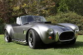 Shelby cobra v los angeles arboretum — Stock fotografie