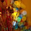 Christmas Balls of light — Stock Photo