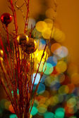 Christmas Balls of light — Stock Photo