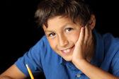 Portrait of young boy - Chiaroscuro Series — Stock Photo