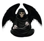 Vettore di morte — Vettoriale Stock