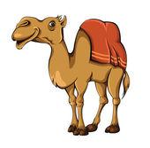 Kamel vektor — Stockvektor
