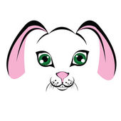 Snuit bunny — Stockvector