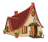 Fantasie huis — Stockvector