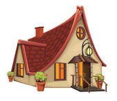 Fantasy dům — Stock vektor