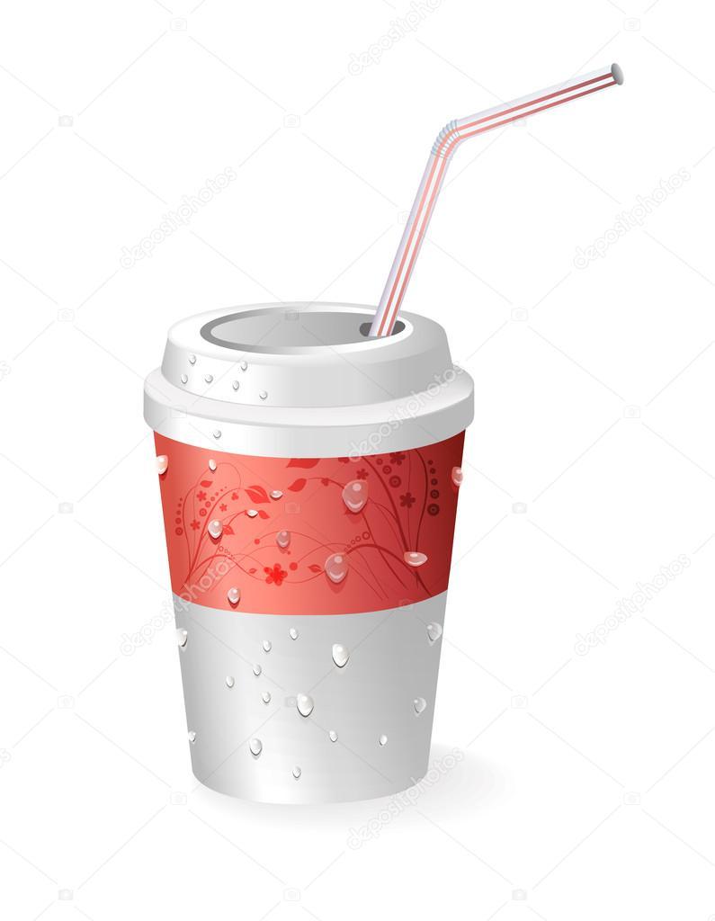 纸杯— 图库矢量图片 #25338597