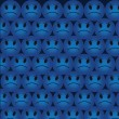 Angry Smiles Background — Stok Vektör