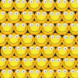 Smileys Background — Stock Vector