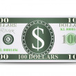 Dollars  — Stock Vector