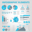 Stock vektor: Set elements of infographics
