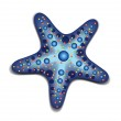 Blue Starfish — Stock Vector #26776597