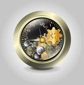 钟表齿轮 — 图库矢量图片