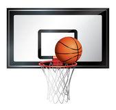 Canasta de baloncesto — Vector de stock