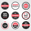 Stock vektor: Set of Retro Vintage Badges and Labels