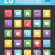 Modern Universal Vector Icons for Web and Mobile Set 1 — Vector de stock #28591043