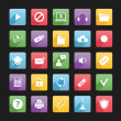 Vector de stock : Set of Web Icons 3