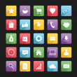 Set of Web Icons 1 — Vettoriale Stock #29323557