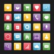 Stockvektor : Set of Web Icons 1