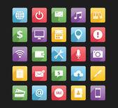 Conjunto de iconos web 2 — Vector de stock