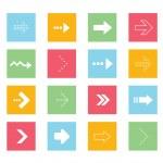 Vector Arrows Icons Set 2 — Stock Vector