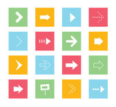 Vector Arrows Icons Set 1 — Vector de stock