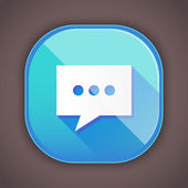 Vector Message Icon — Vector de stock