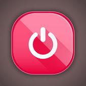Vector Shut Down Icon — Stock Vector