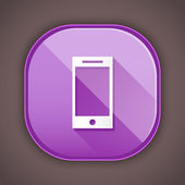 Vector Smartphone Icon — Vector de stock