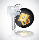 House Key — Stock Vector
