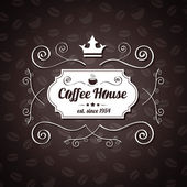 Menu ristorante café di vettore — Vettoriale Stock