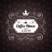 Restoran café için vektör menüsü — Stok Vektör
