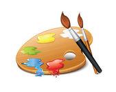 アイコンの色のパレット — ストックベクタ
