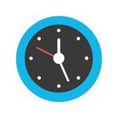 Vector Clock Icon — Stock Vector
