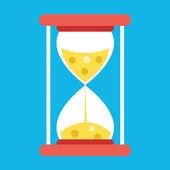 Vector Hourglass Icon — Stock Vector